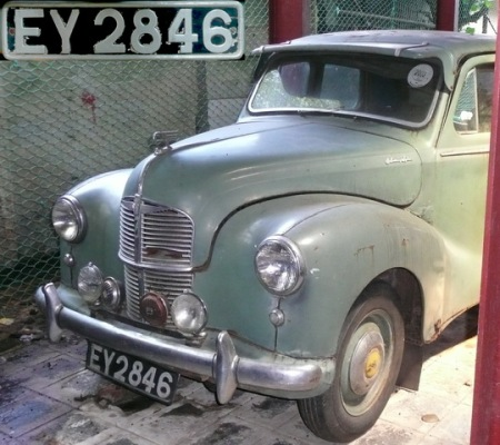 Austin A40 Devon in Colombo 2009