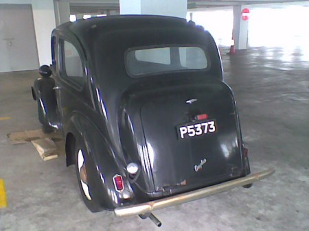 P 5373 was issued to Penang as a Straits Settlement in Malaya  in the1920s - and this Ford Anglia was photographed there as recently as 2012!