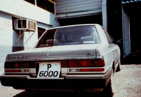 Trinidad used up to P 9999 long ago, but still re-issue as cherished plates if needed.    That's what this one is.    P 6000, taken there in 1987 by VB.