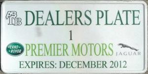 Antigua/Barbuda  Dealer 2012 (annually issued)