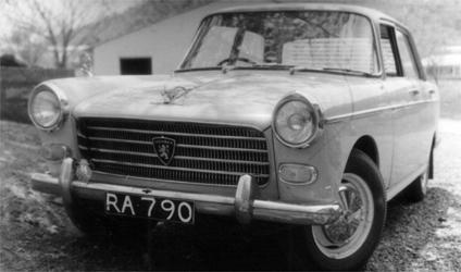 RA 790.  A & RA = Belingwe & Shabani (now Mberengwa) in Zimbabwe.  Peugeot 404.