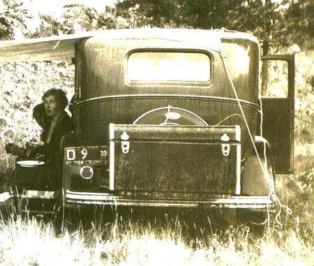 1932 British Columbia Dealer during lunch-break.