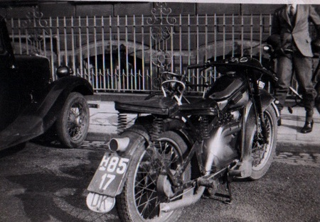 Denmark motorcycle identified by Roger Kimbell