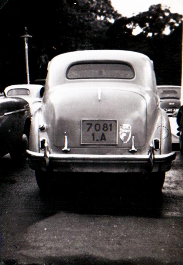 a 1949 Austin Devon from Senegal, 7081 1.A
