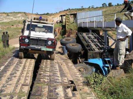 Angolan Autoroute A1.
