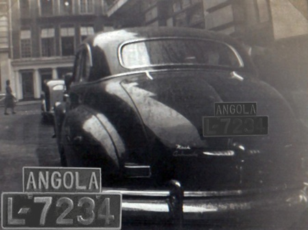 March 2013.  This is the remarkable result of special editing by Antonio Barragan of Placamundi.   He thus brings to light an image of a very rare plate indeed - L-7234 Angola.    Pemberton archive.