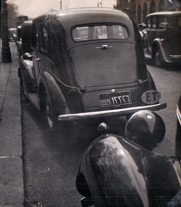 A 1930s Ford Eight, returned from the Souks of Cairo.    Pemberton archive.