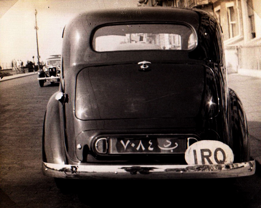 Maybe a Bentley, BD 7084, at Brighton Marine Drive during 1940.   Pemberton archive