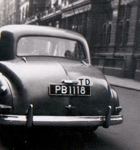 JP captured this 1950 Humber Hawk, home to England from Trinidad