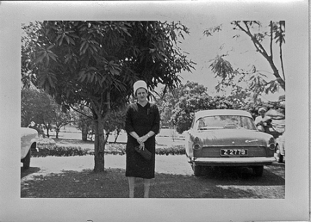 Z 2779 is a Flickr-sourced Picture of a Ford Consul Mk2 in Zaria, Kaduna state.