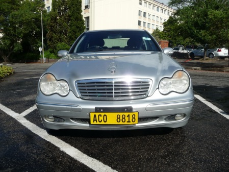 Clearly a Zambian Mercedes, registered at Ndola (C) and yellow has been seen before.....