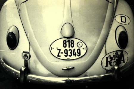 GERMANY - Export Customs (Zoll) oval plate .   This once-common Z-plate series was issued between 1951 & 1988 as tend of thousands of German cars were collected for export.  818 Z-9348 was seen in London in 1960. Brumby archive