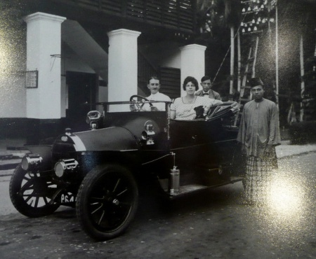 ...and to conclude, another elegant car from another of the Straits Settlements, Penang no. 64n, the car of the Chief of Police there in the early 1900s.     June Bennett