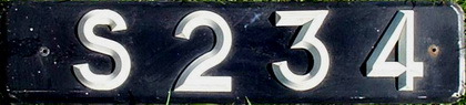 S 234 is a plate from the Mas collection