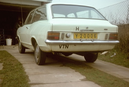 Y-20006, a Vauxhall Viva estate car from  the British embassy in Saigon during the 1970s.     See in England, carrying an unofficial 'oval' of (VTN).   I seems that the car had previously been posted in Budapest with its diplomat owner.     Gray archive