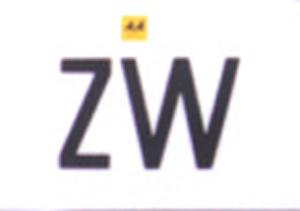 ZW oval ZIMBABWE