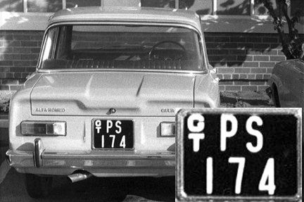 The colonial government instituted a quite detailed system for registering state-owned vehicles, using a GT stacked prefix followed by a department code, in this case, PS for Police Service. After Ian Smith announced the Unilateral Declaration of Independence in 1965, no British vehciles could be sold to the regime and any supplier who would break the sanctions was a welcome help. Thus the previously inconceivable prospect of a foreign brand in use by the administration of a British overseas territory. Formasl independence was reluctantly granted in 1975 after which any brand of vehicle was to be sold in the new Zimbabwe. Brumby archive