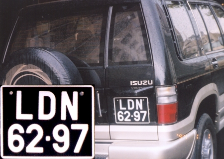 2002 sighting in Namibia was this possible Luanda reg.