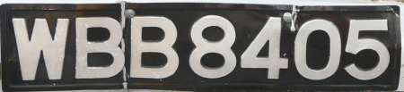 The expired three-letter, four-number series which, in the case of W code, ran from 1974-2013.
