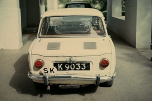 This Kuching-registered Simca 1000 was seen in Islamabad in 1965!  Vic Brumby archive