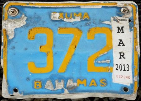 Exuma 372  --   private motorcycle