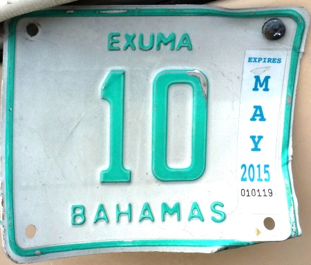 Exuma 10 rental motorcycle