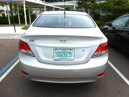 SD 2829  --  New Providence (Nassau) rental car