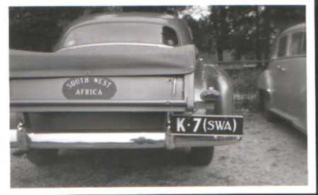 A period pic from Janko's Plateworld, given as 1950, with K from Keetmkanshoop - car 7!