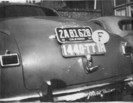 (F)(timp 33-55)(1951).Cherbourg_1440-TT 1H_& Calif-Plate_UScar.jecKS